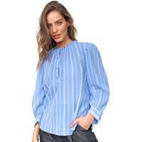 Blusa Gap Listrada Azul
