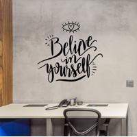 Adesivo De Parede Belive In Yourself
