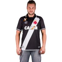 Camisa Vasco Of.1 2017 - Umbro - Masculino
