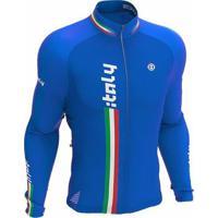 Camisa Ciclismo Manga Longa Italy Ert - Masculino