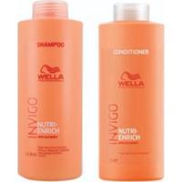 Kit Shampoo E Condicionador Wella Nutri Enrich Invigo - Unissex-Incolor