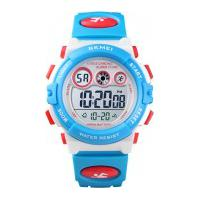 Relógio Skmei Infantil -1451- Azul E Branco
