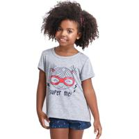 Pijama Short Doll Infantil Super-Heroína Menina Luna Cuore