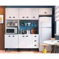 Cozinha Compacta Mia Coccina 10 Pt 3 Gv Branca