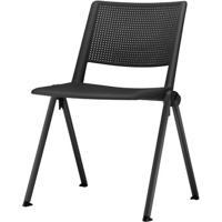 Cadeira Up Base Fixa Preta - 54286 - Sun House