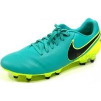 Chuteira Nike Genio 2.16 Tiempo Campo Vrd/Lim - Nike