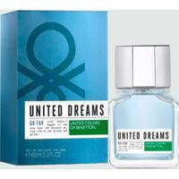 Perfume Masculino United Dreams Go Far Benetton - Eau De Toilette 60Ml