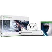 Xbox One S 1Tb 1 Controle Microsoft Com 1 Jogo - Unissex