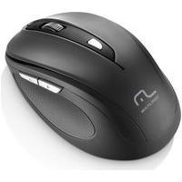 Mouse Sem Fio Multilaser 1600Dpi 2.4Ghz Preto - Mo237