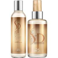 Kit Shampoo + Óleo Reconstrutor Wella Sp Luxe Oil Keratin Protect - Unissex-Incolor
