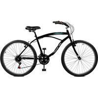 Bicicleta Master Bike Aro 26 Masculina Buzios Plus F/Manual 21 Marchas Preto