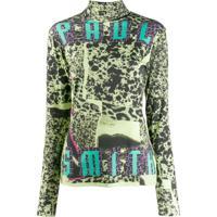 Paul Smith Blusa Com Estampa Collage - Verde