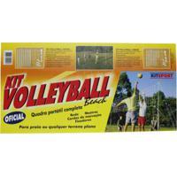 Kit De Volleyball Beach Oficial