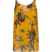 Dorothee Schumacher Blusa Com Estampa Floral - Amarelo