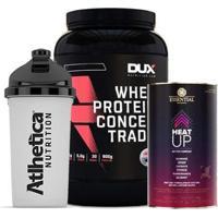 Whey Protein 900G + Heat Up 140G + Bottle - Unissex