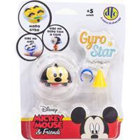 Pião De Batalha - Giro Star - Disney - Mickey - Dtc