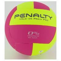 Bola Vôlei De Praia Penalty Pro X Amarela E Rosa