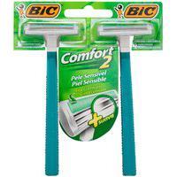 Aparelho De Barbear Bic Comfort Twin Sensitive 12X2