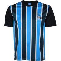 Camisa Grêmio Oldoni Dry Tricolor Masculina - Masculino