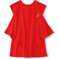 Vestido Lilica Ripilica Vermelho Bebê Menina Vestido Lilica Ripilica Vermelho Menina
