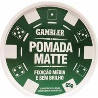 Pomada Matte Média Fixação 65G - Gambler - Masculino-Incolor