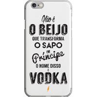 Capinha Vodka Principe Sapo