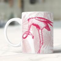 Caneca Vintage Flamingo