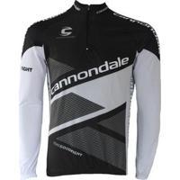Camisa Ciclismo Manga Longa Pro Tour Cannondale Masculina - Masculino