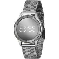 Relógio Lince Feminino Styles Digital - Feminino-Prata