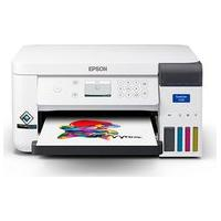 Impressora Epson Sublimatica Surecolor F170, Jato D Tinta, Colorida, Wireless, Usb, Visor Lcd 2.4, Bivolt, Branca - C11Cj80202