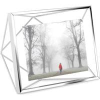 Porta-Retrato Prisma 10X15 Cm Prata