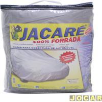 Capa De Carro - Bezi - Pequena - Jacaré - Impermeável - 100% Forrada - Prata - Cada (Unidade) - Pequena