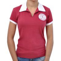 Camisa Retrô Mania Feminina Desportiva Ferroviária 1965 - Feminino