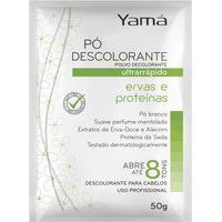 Pó Descolorante Yamá Ervas E Proteínas 50G