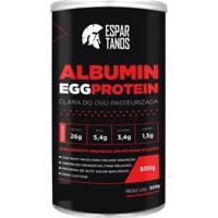 Albumina Egg Protein Clara De Ovo Pasteurizada 500G Espartanos - Unissex-Chocolate