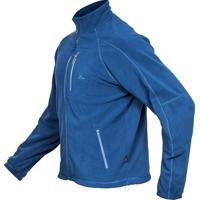 Casaco Thermo Fleece Azul Petróleo Masc Vtb100-17 - Curtlo