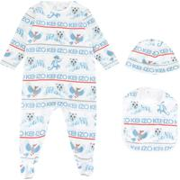 Kenzo Kids Pijama Estampado - Azul