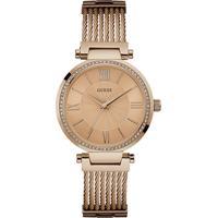 Relógio Guess Feminino Aço Rosé - W0638L4