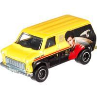 Veículo Hot Wheels - Cultura Pop - 1:64 - Série Star Trek - Ford - Ford Transit Supervan - Mattel - Masculino-Incolor