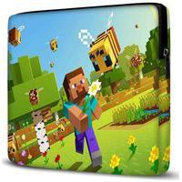 Capa Para Notebook Minecraft 15.6 À 17 Polegadas Com Bolso