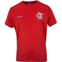 Camiseta Do Flamengo Bent - Infantil - Vermelho