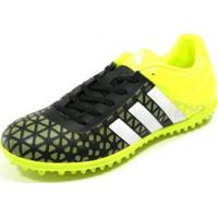 Chuteira Adidas Ace 15.3 Society Pto/Bco/Lim - Adidas