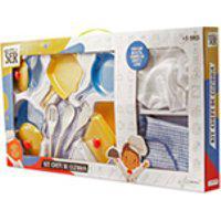 Brincando De Ser Kit Chefe De Cozinha - Multikids