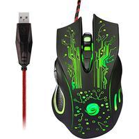 Mouse Gamer Óptico X9 2400 Dpi Usb Com 6 Botões - Preto