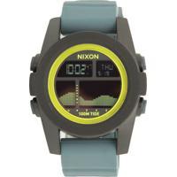 c9701a0e6 Relógio Nixon 99007.A282 Unit Tide Preto Cinza