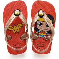 Chinelo Infantil Mulher Maravilha Havaianas Baby Herois