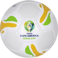 Bola De Futebol De Campo Copa América 2019 Sportcom - Top Branca - Branco