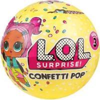 Boneca Lol Surprise! Série 3 Confetti Pop - Unissex-Incolor