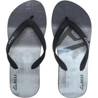 Chinelo Reef Switchfoot Legacy Preto