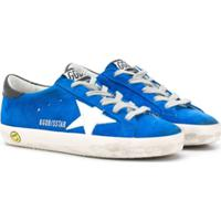 Golden Goose Kids Tênis Superstar - Azul